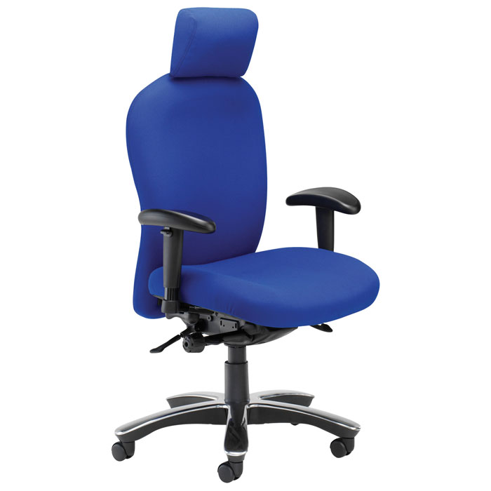Extended 24 Hour Chair To Hold 200kg | Durable Task Chair | 24 Hour  Computer Chair